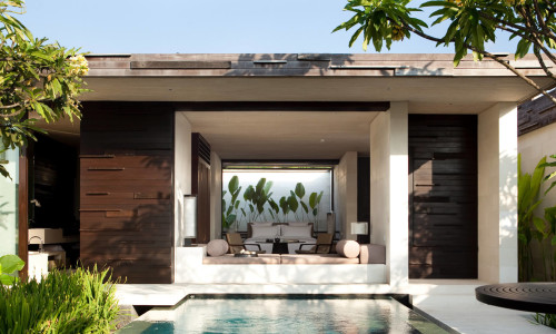 One bedroom pool villa exterior